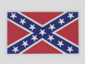 CONFEDERATE REBEL FLAG 3D EFFECT FRIDGE MAGNET (1)